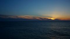 Sunset at Sea (pohuman) Tags: sunset sea sky sun clouds sony turkiye blacksea karadeniz deniz bulutlar gökyüzü rize günbatımı güneş iyidere pohuman nex6 sonynex6 selp1650