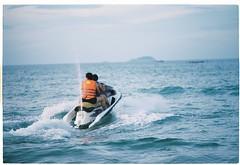 000052 (Arcturus October) Tags: ocean morning travel vacation film beach dawn market kodak dusk hills vietnam viet bana nam danang ektar