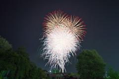 Fireworks 2013/08/12 (szk_a) Tags: longexposure sky japan fireworks sony sigma gifu 1224mm 30sec lifelog nakatsugawa slta99v