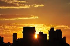 Pôr-do-Sol de Inverno (Ruby Ferreira ®) Tags: sunset building silhouettes pôrdosol silhuetas sãopaulosp céusky nuvensclouds