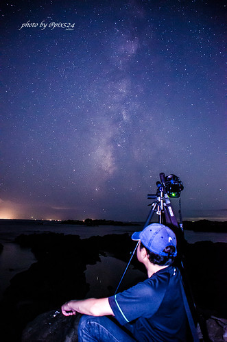Milkyway and self-portrait #maps524