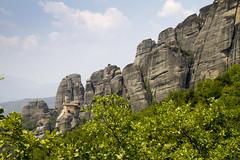 Agios Nikolaos Anapafsas Monastery, Meteora (storvandre) Tags: canon eos day mostar bosnia greece grecia 7d montenegro kastoria storvandre greece2013 grecia2013 pwpartlycloudy