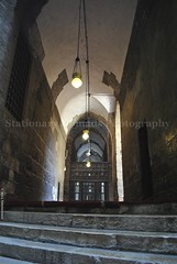 Inside Sultan Hassan Mosque. (Stationary Nomads) Tags: old art architecture design worship islam faith religion egypt mosque cairo masjid islamic oldcairo gama sultanhassan amenaamer stationarynomads