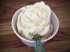 Double Ice Cream Rosette (Rene S. Suen) Tags: toronto dessert cookie sweet treats bakery icecream pastry treat vignette iphone renedinesout bakerbotsbaking