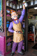 Come in and Enjoy our Sweets (Jocey K) Tags: street shop reflections artwork sweets windowdisplay southaustralia austraila adelailde