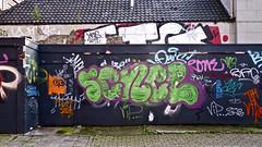 Den Haag Graffiti : SENEL (Akbar Sim) Tags: holland netherlands graffiti nederland s denhaag illegal thehague agga akbarsimonse akbarsim