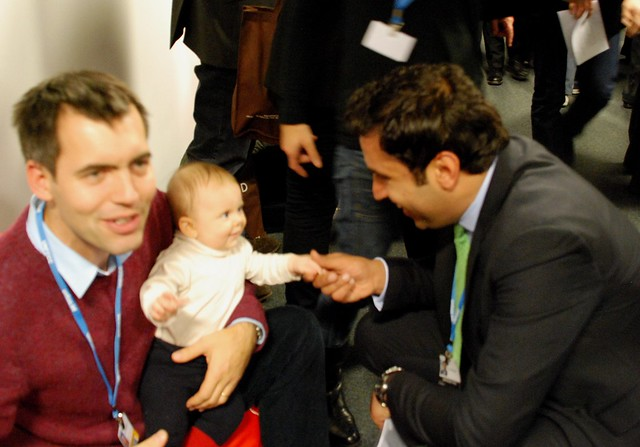 5. The youngest COP delegate