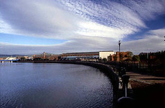 Belfast - East Bank: general view of site from south