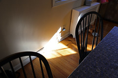 (Rachel Citron) Tags: life family sunlight newjersey triangle nj naturallight domestic montclair radiator citron gardenstate kitchenlight kitchenchairs wendoverroad andrewcitron rachelcitron wendoverrd markcitron barbarafriedman