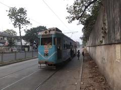 Calcutta 699 Diamond Habour Road (Guy Arab UF) Tags: road india public transport tram diamond company trams kolkata articulated calcutta habour 699 jessop tramways alipore