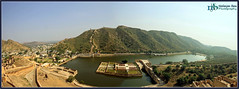 I WANNA SEE MORE (Neelanjan Photography) Tags: blue sky panorama india mountain water canon wonder landscape exposure hill jaipur rajasthan waterscape neelanjanphotography