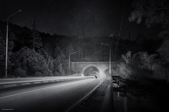 Тунель (Alexander Oleynik) Tags: night hill roads