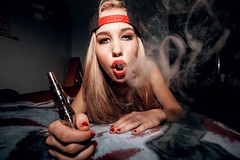 Smoke HD blonde weed fuck Hot