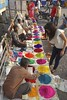 # 364 Colours of Hyderabad (Rajesh_India) Tags: colours diwali seller project365 2013 ameerpet muggulu
