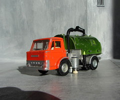 Dinky Toys Ford D800 Johnston Road Sweeper Rare Sealed Door Version No. 449 1976 With Working Lights Conversion And Restoration Plus Scratch Built Building: Futuristic Diorama - 89 Of 91 (Kelvin64) Tags: road door building ford toys conversion no version retro and plus restoration scratch 449 rare futuristic built 1976 diorama johnston dinky d800 sweeper sealed