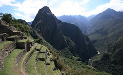 (marcwiz2012) Tags: mountain peru southamerica inca stone landscape ancient ruins terrace stonework valley andes machupicchu precolumbian historicsite