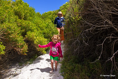 Returning from Hangklip Beach (hannes.steyn) Tags: family people woman baby kids canon westerncape 550d pringlebay hangklip drieniesteyn hannessteyn kaylaannehill canon550d eosrebelt2i crystlehill tamronsp2470mmf28divcusd