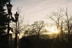 The Gate to Narnia (Toffee Maky) Tags: light sun film analog 35mm prague lofi narnia lantern analogue expired compact carlzeiss werra carlzeissjena kodakultramax400 filmcompact kodakfilms werrai toffeemaky carlzeissjenawerrai