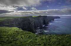 Cliffs of Moher (reddirt791/Bradley Cox) Tags: ocean blue ireland sky grass clouds bluesky olympus cliffs cliffsofinsanity atlan
