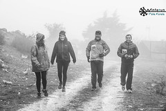 (Nafsika Chatzitheodorou) Tags: winter mountain feet rain fog day running run athlete raining kavala vilage palaia cavalla  palia winterun