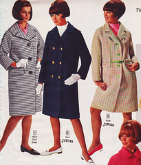Aldens 67 ss three coats (jsbuttons) Tags: winter clothing 60s buttons coat womens 1967 catalog 67 sixties aldens vintagefashion doublebreasted