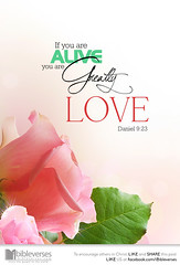 You are greatly love (jubileelewis) Tags: love alive devotional