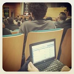 Terminando el 1er dia del I Congreso sobre Seguridad Informática en #HackronTenerife