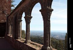 Sant Miquel d'Escornalbou - 20 (e_velo ()) Tags: winter olympus invierno catalunya baixcamp castillos 2014 hivern castells castels ancientarchitecture riudecanyes e620
