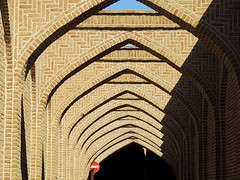 Arched alleys of Qazvin (German Vogel) Tags: brick architecture alley asia pattern arch iran market middleeast ceiling bazar qazvin islamicrepublic westasia