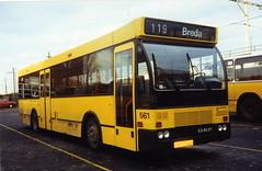 BBA bus 3100. Breda NS. (Arthur-A) Tags: bus netherlands buses nederland breda autobus brabant bba noordbrabant daf bussen denoudsten