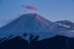 Emergence (Yuga Kurita) Tags: sunset red nature japan clouds landscape nikon fuji sigma mount mountfuji fujisan    mtfuji yamanashi fujiyama  fujiyoshida    120300mm   d800e