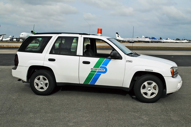 chevrolet airport miami aviation chevy trailblazer department dept miamidade opf dade opalocka