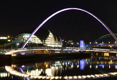 The Quayside, Gateshead (jmorley721) Tags: bridge river newcastle millenium sage tyne gateshead