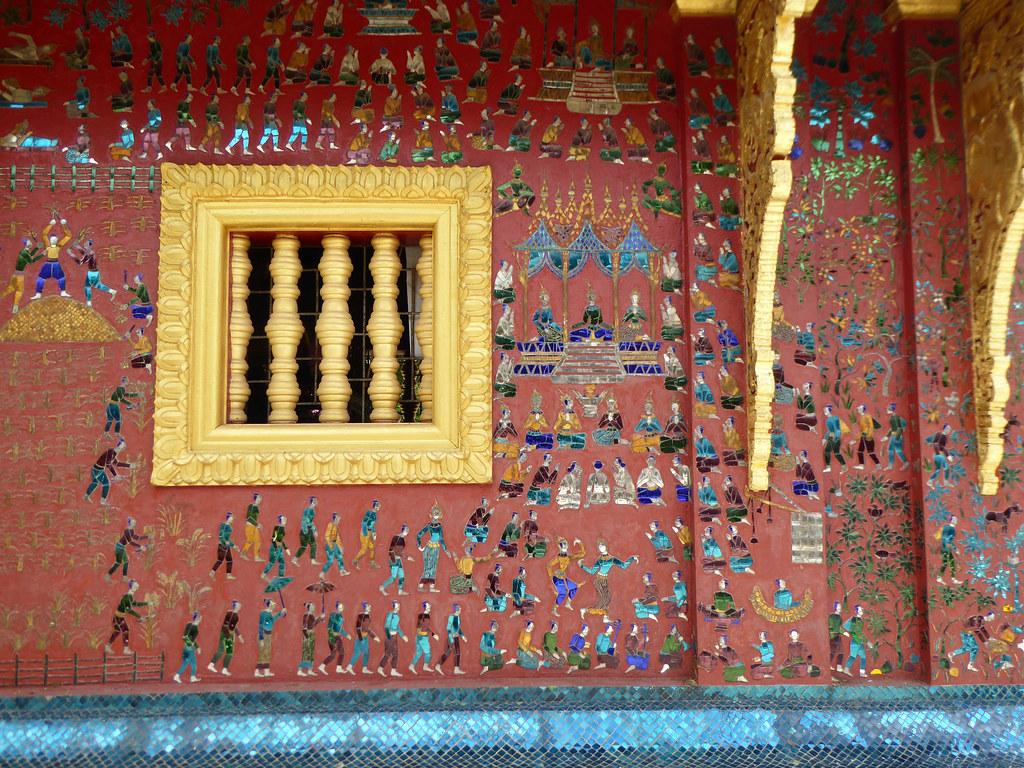 Details of Wat Xieng Thong