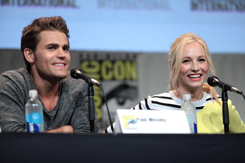 Paul Wesley & Candice Accola