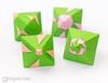 60° Origami Modulars (Maria Sinayskaya) Tags: 10010 15cmdoublesided 3dorigamistar daiyoshiko doublebronzerectangle folded kamipaperduocolorcolor kusudama mariasinayskaya modularorigami origami origamipolyhedron origamispikes origamistar otherbronzishrectangles rectangle2sqrt3 ðð°ñð¸ñð¡ð¸ð½ð°ð¹ñðºð°ñ