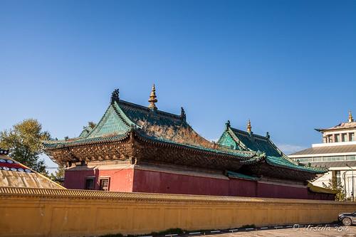 Inside the Gandan Temple Complex 9221