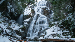 DSC_0013 (Adrian De Lisle) Tags: britishcolumbia canada kennedyfalls lynnvalley northshore pnw pacificnorthwest snow vancouver waterfall winter northvancouver ca