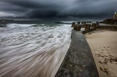 Storm Meditation (Crouchy69) Tags: sunrise dawn landscape seascape ocean sea water coast clouds sky storm ross jones memorial pool coogee beach sydney australia