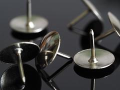 Drawing Pins (Smiffy'37) Tags: macromondaymetal drawingpins tacks metal objects closeup reflections