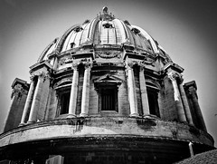 It's huge (Halibel14) Tags: rome italy stpetersbasilica dome vaticancity lightroom olympus epl1
