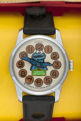 1977 Cookie Monster watch (Tom Simpson) Tags: sesamestreet watch accessories vintage 1977 1970s cookiemonster muppet muppets themuppets