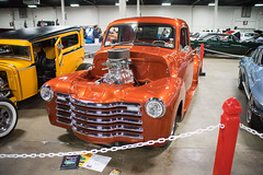 Frankmarrattaautoshow2017-171 (gtxjimmy) Tags: sonya7 sony a7 alpha mirrorless fullframe autoshow carshow autorama sigma 28200mm bige easternstateexpo newengland frankmarattasatuoshow frankmaratta massachusetts springfield 1949 chevy chevrolet truck streetrod hotrod antique muscle classic vintage old resto worldcars