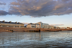 2017_02_24_0084_5_6_fused (EJ Bergin) Tags: beach seaside worthing westsussex sunset thebeachhotelandresidence seafront sand lowtide heeneterrace theburlington hdr exposurefusion