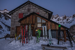 Frey hut skiing/all photos Chris Rubens copyright