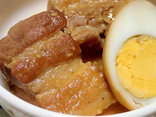 豚のコチュジャン味噌角煮