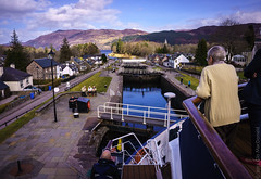 Atop the Lock in Fort Augustus (glomacphotos) Tags: scotland