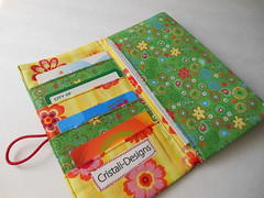 Handmade wallet (Cristali Designs) Tags: colorful handmade wallet crafts fabric bags fabricwallet cristali