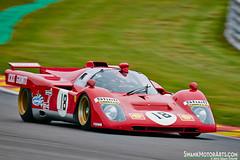 1970 Ferrari 512M (autoidiodyssey) Tags: cars race vintage belgium ferrari 1970 spa mrl francorchamps spafrancorchamps 512m masterssportscars woodcotetrophy spa6h paulknapfield stirlingmosstrophy 2012spasixhours