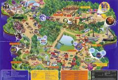 Alton Towers 2004 Park Map (ThemeParkMedia) Tags: park old tourism map maps towers archive worldwide theme alton find